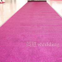 Starlight carpet pearlizing carpet wedding props wedding supplies multicolour carpet