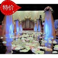Gold silver mirror surface carpet the mirror double faced mirror carpet wedding props wedding supplies