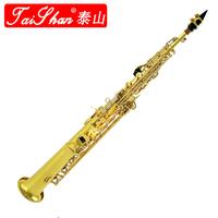 Spokesman 's soprano saxophone tube 3000 b woodwind musical instrument electrophoresis gold