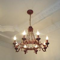 Fashion lighting brief modern restaurant lamp bedroom pendant light candle pendant light