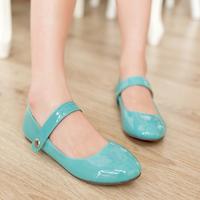 Big Size 9 10 11 women fashion flat heel comfort shoes mary janes casual women flats shoes free shipping 1205