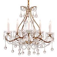Fashion vintage tieyi lighting american style antique lamps fashion luxury crystal pendant light