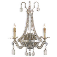 American style antique lighting fashion vintage lamps ofhead crystal wall lamp