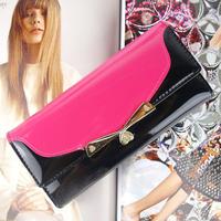 D107 2014 new arrival leather women wallets woman  bag women's design wallet change purse for women FREE shipping