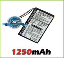 Wholesale GPS  Battery for Garmin Edge 605, Edge 705 (1250 mAh) new free shipping