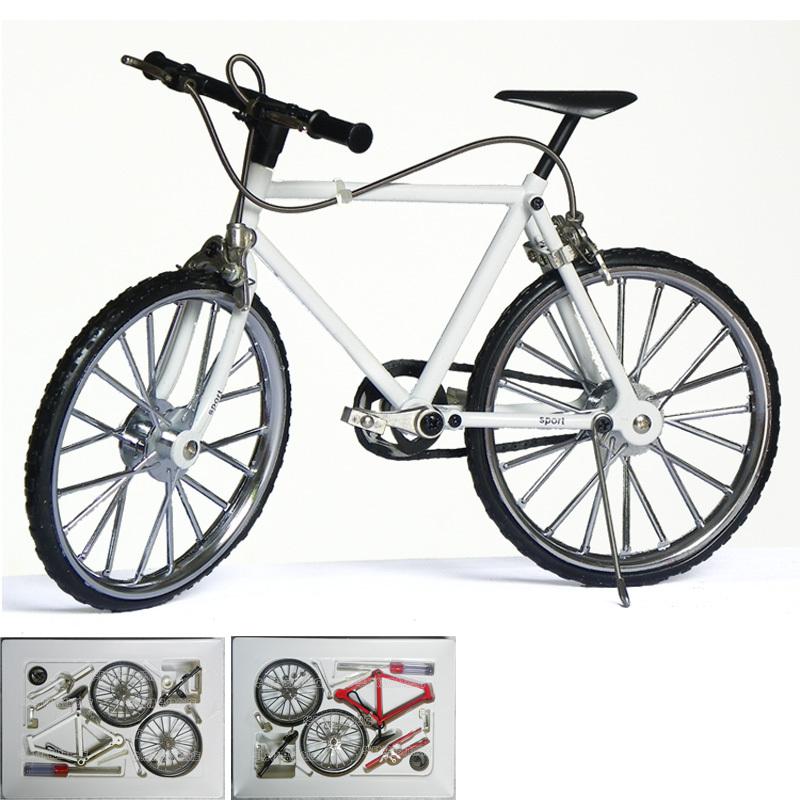 Hot-selling diy assembled bicycle alloy model mountain bike model(China (Mainland))
