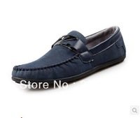 Free Shipping Men Shoes Flat Casual Leather driving Shoes,Mocassins Soft and Comfortable loafers, business men's shoes