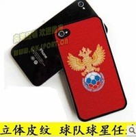 1 pcs RUSSIAN country case  FOR IPHONE 5S 5 4S 4  russiasoccer team protect case