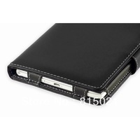 1pc free shipping Black Faux leather cover case for  PRS-350 Pocket Edition (Book style) For factory wholesales