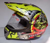 Free shipping, LS2 MX433-3 Cyclocross dual lens wear and off-road helmet , full helmet