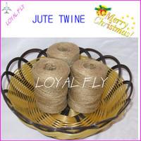 50pcs/lot natural DIY jute twine/cords (1.5mm) 100m/spool jute rope, jute string