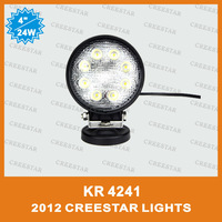 "4"" 24W Off Road LED Work Light 24w led work light 8PCS/LOT KR4241 Factory wholesale price best quality fast delivery CREE STAR"