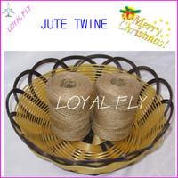 30pcs/lot natural DIY jute twine/cords (1.5mm) 100m/spool twisted jute rope, jute string