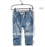 High quality 2-10 years fashion cool cotton denim 2014 boys jeans brand children's long pants kids girls boys pants
