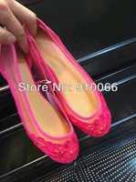 Free shipping fashion 2014 Summer & Spring new girl Flat Shoe nice womens Soft Round Toe fashion lace sandal shoes