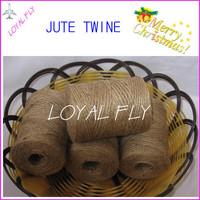 Free shipping 20pcs/lot natural jute twine/cords (1.5mm) 100m/spool jute rope, jute string