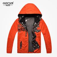 new 2014  spring autumn children outerwear kids children's clothing brand jacket children cardigan teenage trench zipper GUTOZA