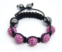 XB39 Fashion Jewelry Kids Bracelets Child Bracelet Baby Bracelet Children Shamballa Bracelet New Tresor Paris CZ Disco Ball