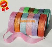 2.5cm color onions belt christmas belt gift packaging divisa ribbon glitter band packing ribbon