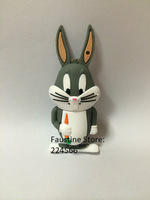 Free shipping Hot Looney Tunes Bugs Bunny USB Flash drive 2GB 4GB 8GB 16GB 32GB 64GB Pen Thumb Drive Memory stick U Disk 2.0