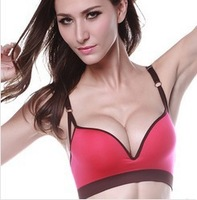 (30pcs/lot) Newest Style Women's Seamless Bra With Pads Sleep Bra Yoga Bra