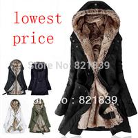 winter coat women casacos femininos inverno parka lining fur Hoodies winter warm long coat down & parkas winter jacket women
