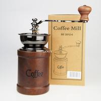 Original be2012-6 classical hand grinder coffee bean grinding machine