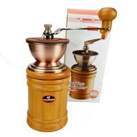 Original 1208 log tiamo hand grinder ceramic core hand coffee grinder hg6074