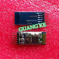 10pcs/LOT HC05 JY-MCU anti-reverse, integrated Bluetooth serial pass-through module, HC-05 master-slave 6pin