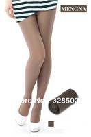 wholesale 100pcs 4 Colors 12D Sexy Women Thin Transparent Women Tights Pantyhose Color Stockings DHL FRDEX Free Shipping Hosiery