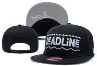 Wholesale and free shipping !!!! DEADLINE Snapback Hats 5 Styles men's brand designer Adjustable caps