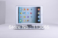 Free Shipping 360 Degrees Rotating Bluetooth Keyboard Bluetooth Aluminum Tablet Keyboard for iPad Air iPad 5