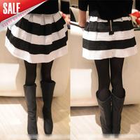 5pcs/lot 2014 Spring Autumn girls princess wide striped skirt kids fashion tutu skirts wholesale in stock A036