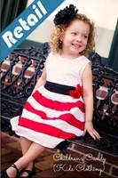 1 pc retail - Girls Flowers summer models girls striped dress princess dress 1262214101 xs 012 -c-5
