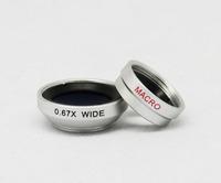 0.67X Wide Angle Micro Lens Detachable Macro Lens For Mobile Phone And Digital Camera