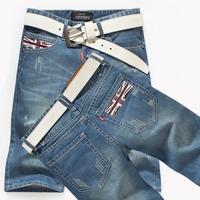 HOT-SALE!2014 Popular Fashion Mens Jeans Shorts Top Brand Zipper Water Washed Cotton Denim Pants Designer Shorts Jeans Men J0017