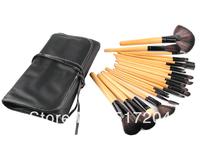 Wood Color Makeup Brushes Set & Kits Professional 24 pcs 24pcs Makeup Brush Set Makeup Tools Cosmetics Facial Brushes For Makeup