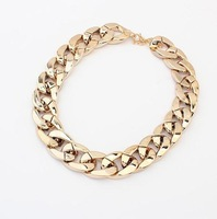 new 2014 statement chunky Necklaces & Pendants men jewelry wholesale fashion chain choker necklaces women