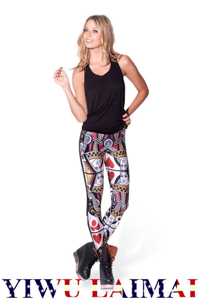 ... womens leggings bandana pants-in Leggings from Women's Clothing