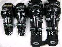 Free shipping 2013 NEW 2Pairs Knee elbow pads motorcycle knee motorcycle gear cycling knee sports gear racing knee