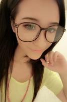 Free shipping! New arrival 2014 FASHION Big Frame COLORFUL glasses frame, retro rivet eyeglasses fashion eyewear