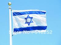150X90CM  Israel Flag 3x5ft  Israel Country flag National flag, free shipping