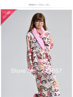 2014 new fashion women lovely bathrobe