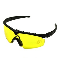 0092 Night Driving Vision Sunglasses with Yellow Lens Outdoor Eyes Glasses