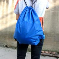 Travel tourism supplies portable folding backpack folding bag drawstring bags shopping bag z110