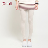 Cotton 100% 2013 autumn wide stripe faux two piece slim hip basic skirt pants 3