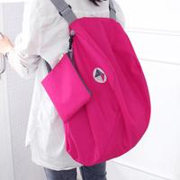 Travel kit backpack portable ultra-light folding handbag cross-body storage backpack z210