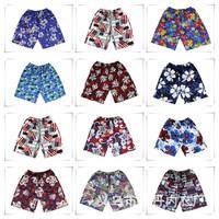 2014 Shorts for women men beach  flower fashion New couple the shorts swimming Mens girls Board short shorts Free shipping