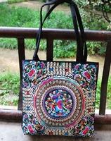 Women handbag embroidered bag with high quality
