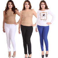 plus size trousers female skinny pants casual trousers plus size women clothing thin pants, free shipping